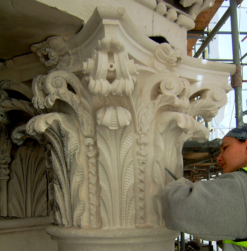 Architectural stone carving and masonry courses