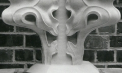 Finial with crockets