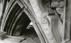 Arch stone crockets