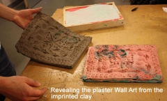 Revealing the plaster Wall Art