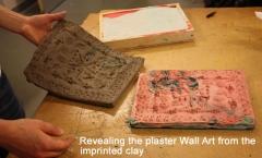 Revealing the plaster Wall Art