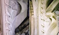 Crockets in Bath stone
