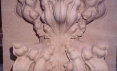 Stone finial