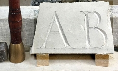 Beginners carved letters - 1 day course