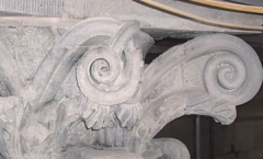 Volute installed - right of capital