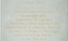 Commemorative plaque - unveiled Greenwich Park - Katherine Worthington