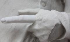 Statue restored