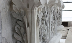 Architectural Portland stone carvings