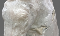 Sculpture before polishing