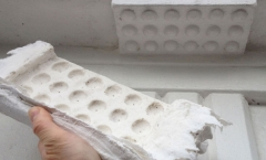 Architectural moulding cast