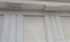 Architectural moulding externally installed