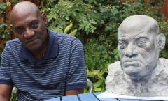 Darcus Howe and his portrait