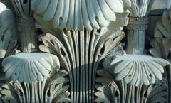 Pillaster capitals - acanthus leaves