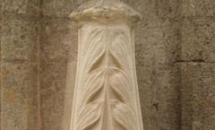 Decorative Bath stone crockets