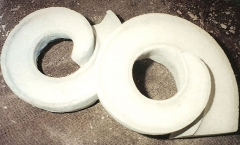 New carved volutes