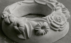 Portland stone wreath