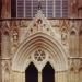 Great West Door - Unveiled by HRH Duke of York
