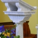 Marble suite - Altar, lectern, tabernacle and credence table